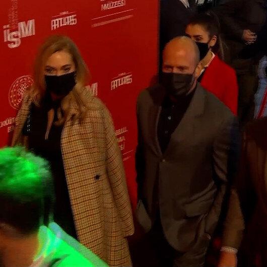 Dünyaca ünlü yıldız Jason Stathamdan Atlas Sineması açılışına sürpriz ziyaret