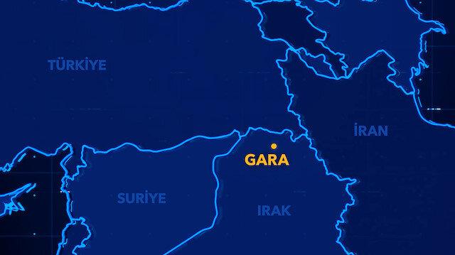 TVNET Garada: Terör örgütünün hezimete uğratıldığı bölgeyi görüntüledi
