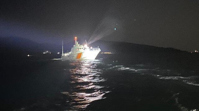 Çanakkale'de tekne battı: Bir ölü iki kayıp