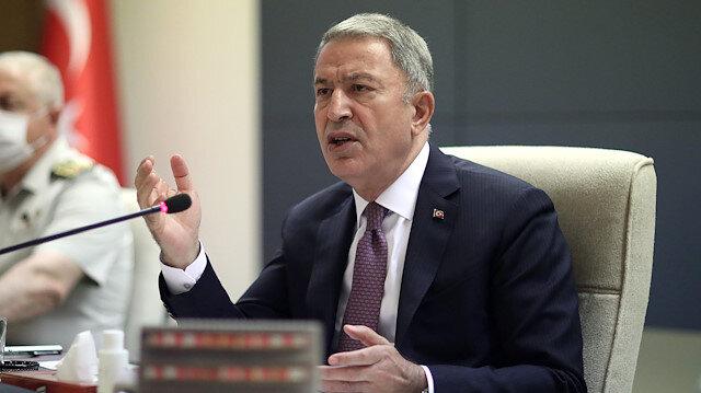Milli Savunma Bakanı Akar: Gara'daki PKK'nın caniliğini, alçaklığını herkes görmeli