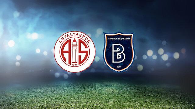 Antalyaspor-Başakşehir (CANLI)