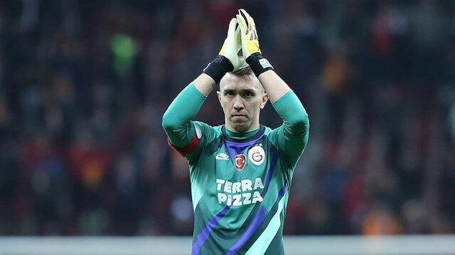 Süper Lig'de tek bir takımda en çok maça çıkan yabancı oyuncu: Fernando Muslera