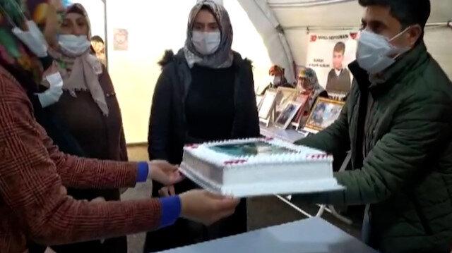 Diyarbakır annelerinin Cumhurbaşkanı Erdoğan için hazırlattığı pasta, Çocuk Evine gönderildi