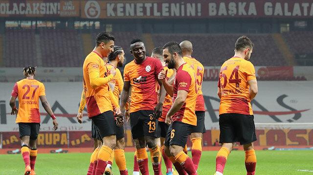 Galatasaray son 8 maçta 18 gol attı