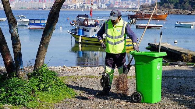 Tuzla Belediye Başkanı Dr. Şadi Yazıcı'dan çöp toplatmayan CHP'li belediyelere gönderme: Heykeli dikilecek insanlarsınız