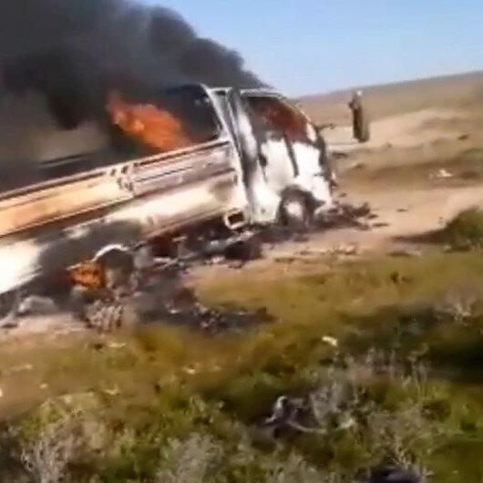 Suriyede çiftçileri taşıyan aracın geçişi sırasında mayın patladı: 5 ölü