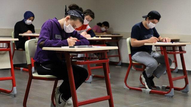 Liselerde yüz yüze sınavlar için tarih belli oldu