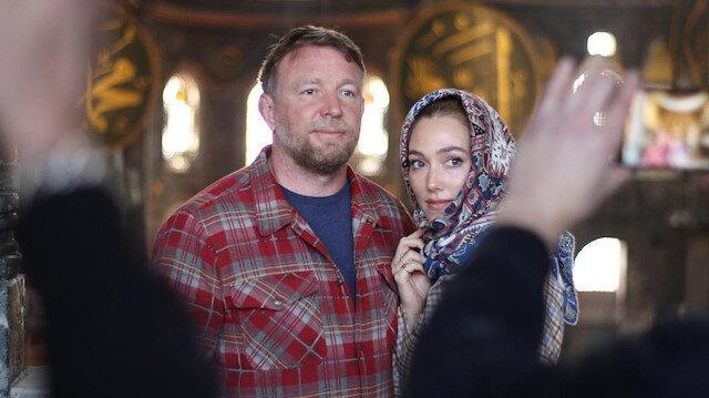 Ünlü yönetmen Guy Ritchie'den Ayasofya ve Topkapı Sarayı'na ziyaret
