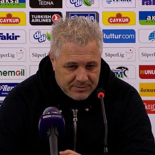 Çaykur Rizespor Teknik Direktörü Sumudica: Mourinho gelse Rizede bir şey yapamaz