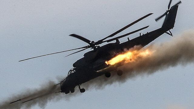 Suriye'de Rus helikopteri düştü; İsrail Şam'a saldırdı