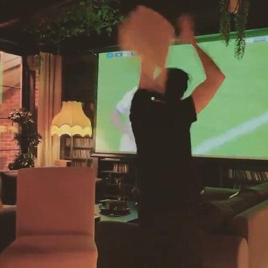 Ünlü piyanist Fazıl Say, Fenerbahçenin kaçırdığı gol sonrası çılgına döndü