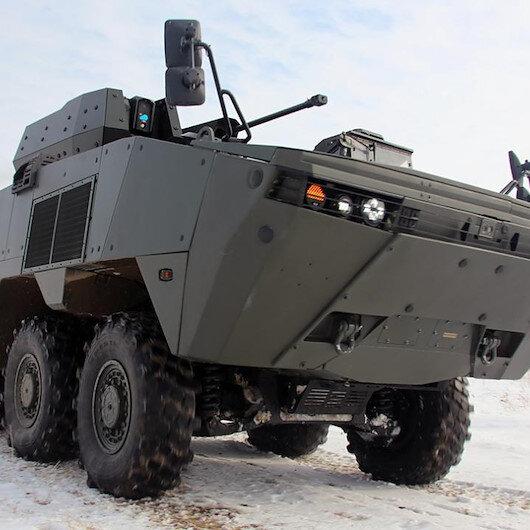 Türk yapımı zırhlı muharebe aracı Kazakistanda: Testlerden başarıyla geçti