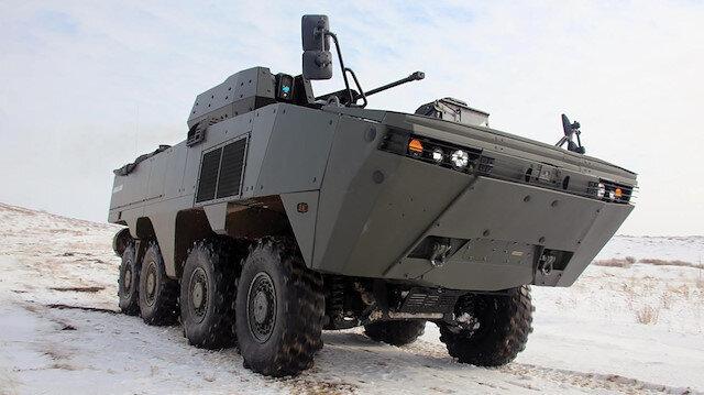 Türk yapımı zırhlı muharebe aracı Kazakistan'da: Testlerden başarıyla geçti