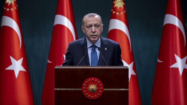 Cumhurbaşkanı Erdoğan: Kontrollü normalleşme başladı