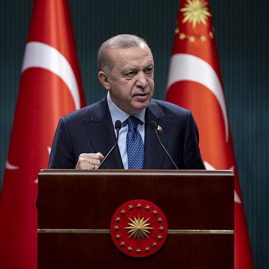 Cumhurbaşkanı Erdoğan: Yeni ve sivil anayasa çalışmalarımıza başladık
