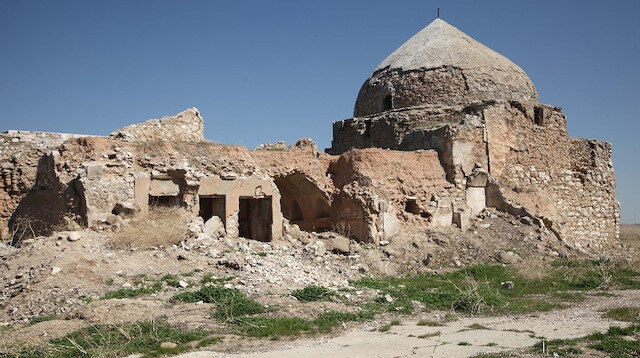 Türklerin ilk yerleşim yeri Kerkük Kalesi yıkılmaya yüz tuttu