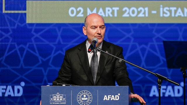 İçişleri Bakanı Soylu'dan 'İstanbul depremi' açıklaması