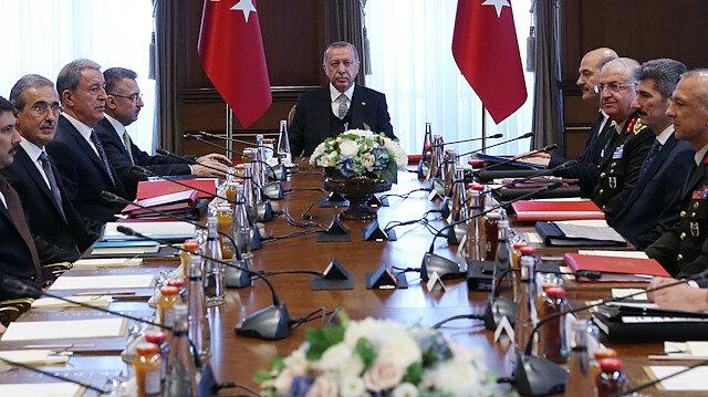Cumhurbaşkanı Erdoğan başkanlığındaki kritik toplantı sona erdi