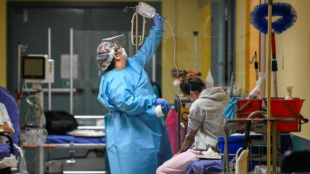 İtalya'da aktif koronavirüs hastası 430 bini geçti