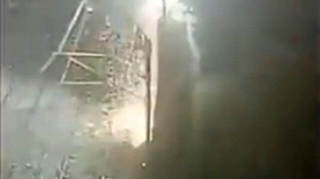 İstanbul metrosunda korku dolu anlar: Elektrik telleri havai fişek gibi patladı