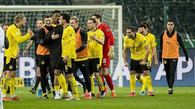 Almanya Kupası'nda Borussia Dortmund yarı finale yükseldi (ÖZET)