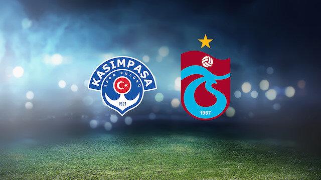 Kasımpaşa-Trabzonspor (CANLI)