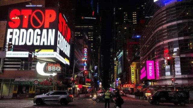 New York'taki Türkiye aleyhtarı ilanlar için soruşturma