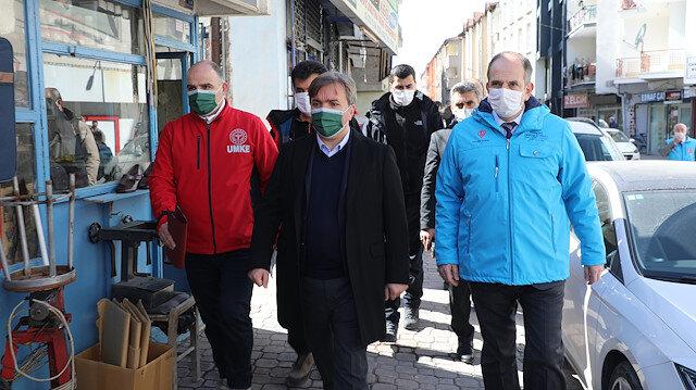 Vali Aydoğdu açıkladı: Aksaray'da pazar günü istisnalar ortadan kaldırıldı, bakkallar, manavlar, parklar kapalı olacak