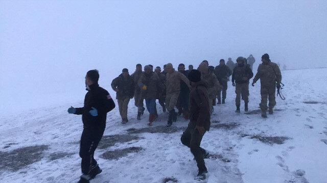 Tatvan'da askeri helikopter düştü: 11 şehidimiz var