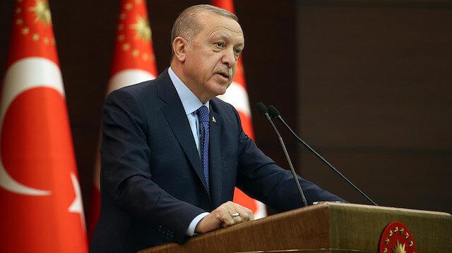 Cumhurbaşkanı Erdoğan'dan helikopter kaza açıklaması: Ailelere ve TSK'ya başsağlığı diledi