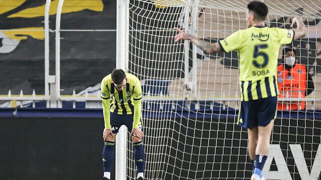 Fenerbahçe Kadıköy'de yine kazanamadı: Antalyaspor net fırsatları kaçırdı