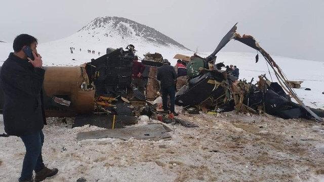 Bingöl'den kalkan askeri helikopter düştü: 11 askerimiz şehit