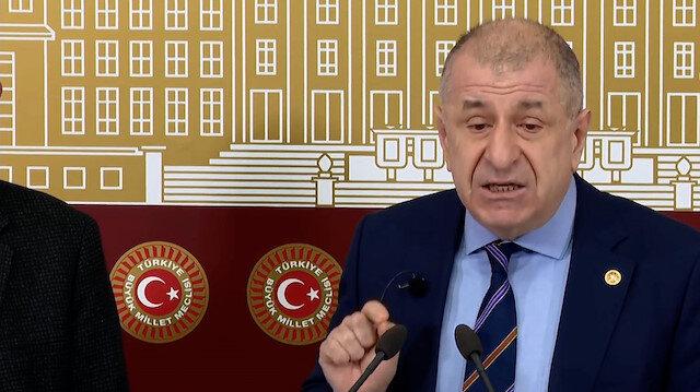 Ümit Özdağ: HDP ile masaya oturanlarla aynı partide bulunmam mümkün değildir, İYİ Parti'den istifa ediyorum