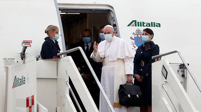 Tarihte bir ilk: Papa Irak'ta