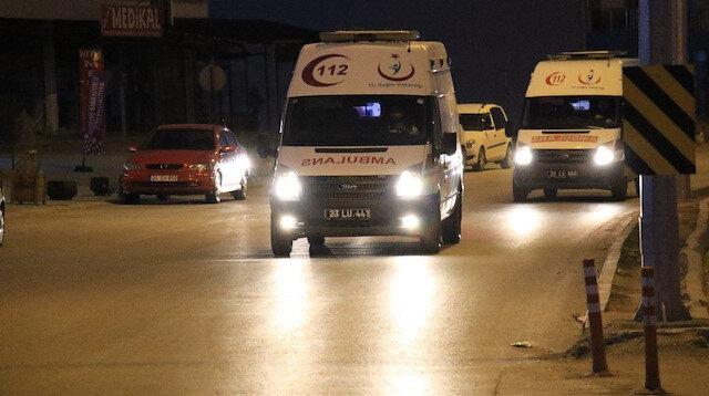 Helikopter kazasında şehit düşen 11 askerin naaşı Elazığ'a getirildi