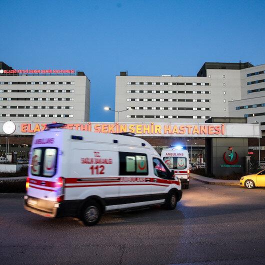 Bitliste helikopter kazasında şehit olan 11 askeri personelin naaşı Elazığa getirildi