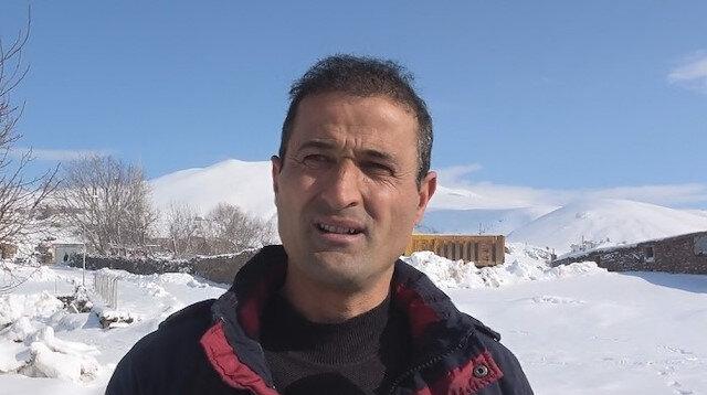 Helikopter enkazına ilk varan vatandaş konuştu: Karlar altında bir şehidi ellerimle çıkarıp montumu yaralı askerin üzerine attım