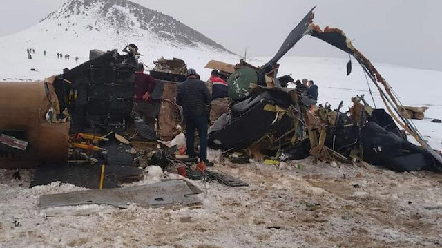 Milli Savunma Bakanı Akar: Helikopter olumsuz hava şartları nedeniyle düştü