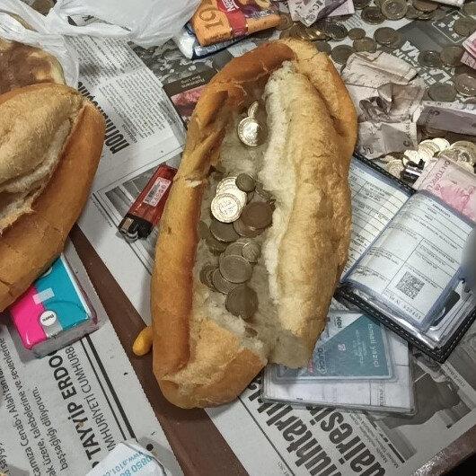Ekmek arasından para çıktı: Gören şaşkına döndü