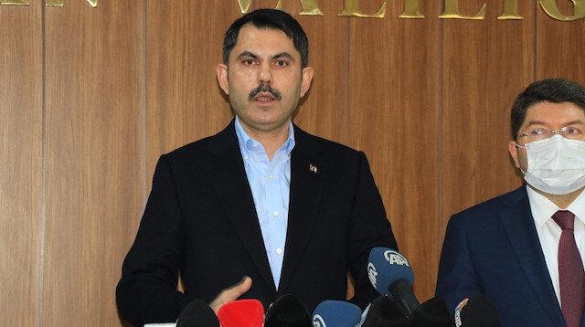 Bakan Murat Kurum : Depremi terörle mücadele kadar önemsiyoruz