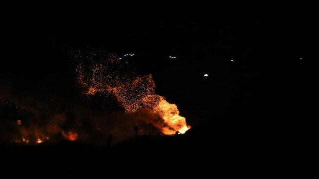 Fırat Kalkanı Harekatı Bölgesi'ne balistik füze saldırısı düzenlendi