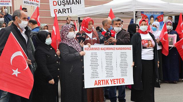 Evlat nöbetindeki anneler: Sözde kadın haklarını savunan HDP 553 gündür sesimizi duymuyor