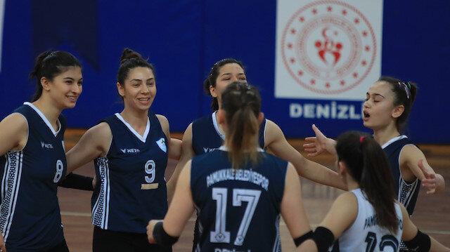 Pamukkale Belediyespor Kadın Voleybol Takımı sezonu 4. sırada tamamladı