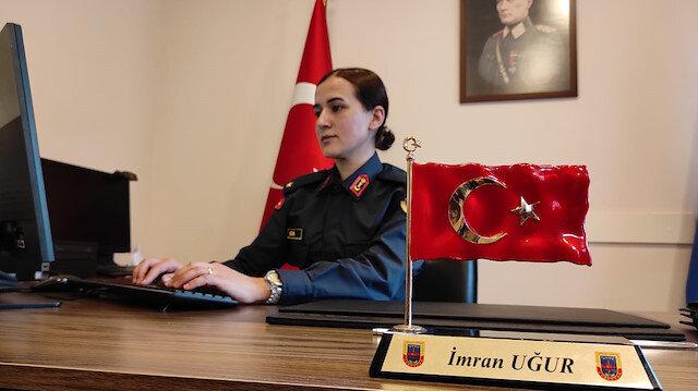 Nene Hatun'un izinde: Çocukluk hayaliydi şimdi İstanbul'un tek kadın Jandarma Karakol Komutanı