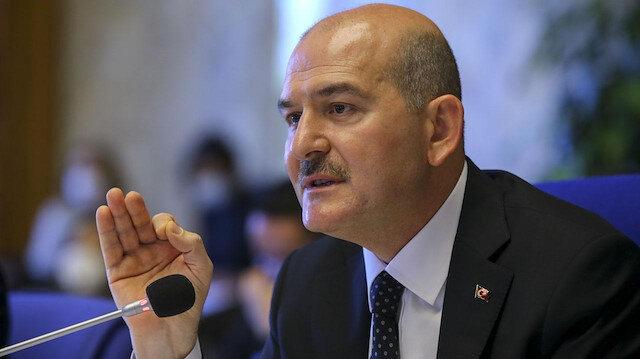 İçişleri Bakanı Süleyman Soylu'dan 8 Mart'ta 'kadına şiddetle mücadele' mesajı