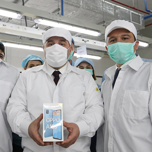 Smartphone brand Oppo begins test production in Turkish plant