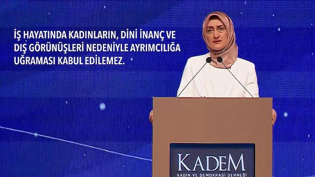 KADEM Kadın Hakları İlkeleri'ni açıkladı