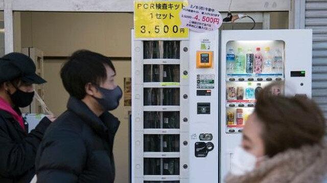 Koronavirüs testleri otomat makinelerden satışa sunuldu: 56 dolar