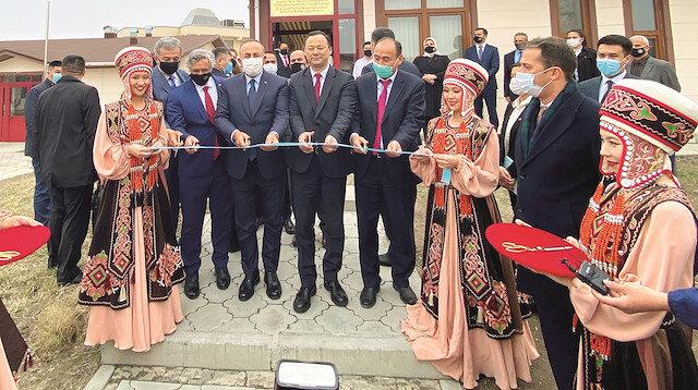 İlk Maarif okulu Kırgızistan'a