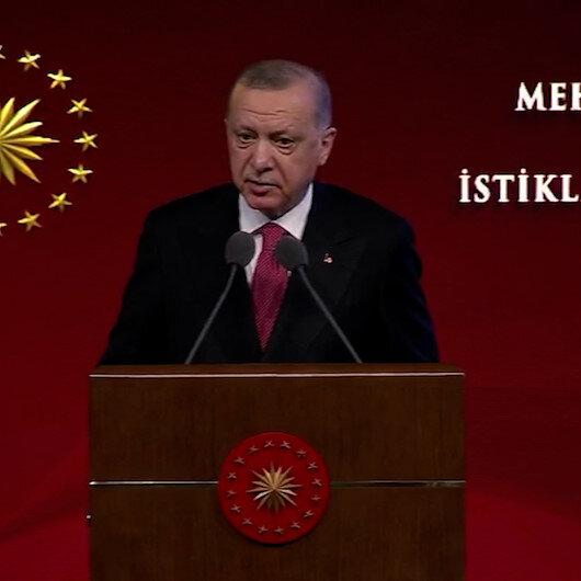 Cumhurbaşkanı Erdoğan, Mehmet Akif Ersoyu anlattı: Müstemleke aydınlarına karşı bu toprakların sesi olmuş sembol bir şahsiyettir